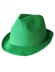 Groene trilby hoed voor volwassenen