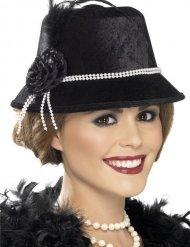 Versierde harleston jaren 20 hoed voor vrouwen