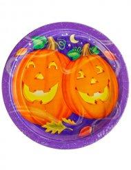 Halloween pompoen borden