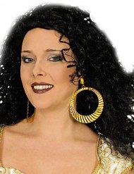 Goudkleurige creolen voor vrouwen