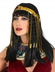 Goudkleurige Egyptische slang hoofdband voor vrouwen