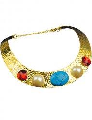 Goudkleurige Cleopatra ketting voor vrouwen