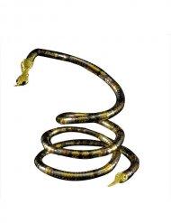 Goudkleurige slangenketting voor volwassenen