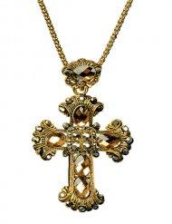 Ketting met gotisch kruis