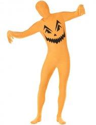 Pompoen second skin kostuum voor volwassenen