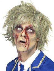Korte zombie pruikvoor heren