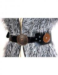 Bruine viking riem