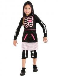Schattig skelet kostuum voor kinderen
