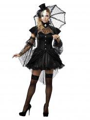 Gothic pop kostuum voor vrouwen