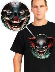 Killer clown t-shirt voor volwassenen