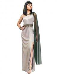 Zilverkleurig Cleopatra kostuum voor vrouwen