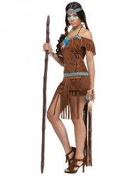 Sexy indianen kostuum voor vrouwen