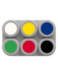 Schminkpalet met 6 kleuren