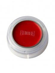 Donkerrode lippenstift