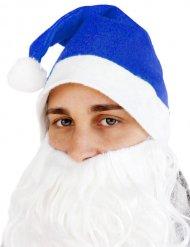 Blauwe kerstmuts voor volwassenen