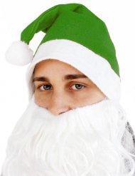 Groene kerstman muts voor volwassenen
