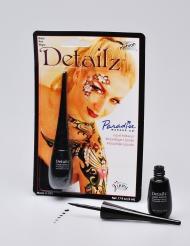 Zwarte vloeibare make-up Mehron™