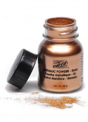 Metallic gouden make-up poeder Mehron™