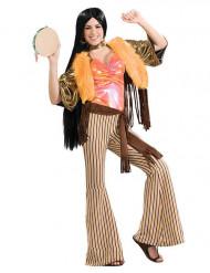Jaren 60-70 hippie kostuum voor vrouwen