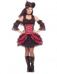 Extravagant piraat kostuum voor vrouwen