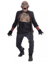 Monsterlijke mutant kostuum voor volwassenen