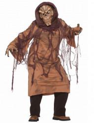 Bruin skelet kostuum voor volwassenen