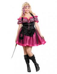 Sexy piraat kostuum voor vrouwen - Grote Maten