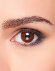 Bruin oog lenzen