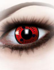 Rode contactlenzen voor volwassenen