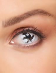 Zwarte raaf contactlenzen voor volwassenen