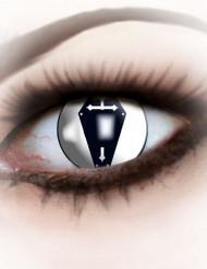 Zwarte doodskist contactlenzen voor volwassenen