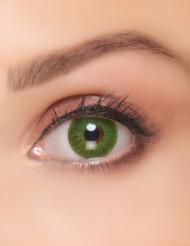 Groene electro contactlenzen voor volwassenen