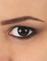 Zwarte ogen contactlenzen voor volwassenen