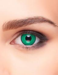 Groene en zwarte contactlenzen voor volwassenen