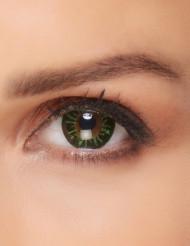 Groene vlammen contactlenzen voor volwassenen