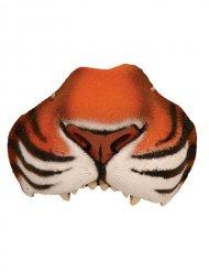 Plastic tijger neus