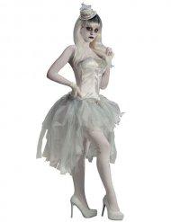 Witte spook tutu voor volwassenen