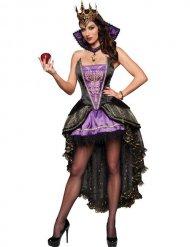 Kwaadaardige koningin kostuum voor vrouwen