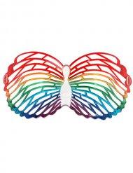 Veelkleurige vlinder bril
