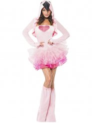 Sexy flamingo kostuum voor vrouwen