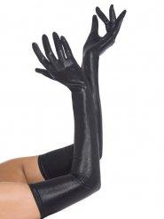 Lange nepleren handschoenen voor volwassenen