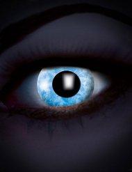 Diamant blauwe UV contactlenzen