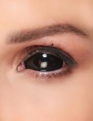 Zwarte ogen contact lenzen voor volwassenen