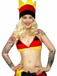 Duitse vlag bikini bovenstuk voor vrouwen