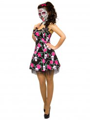 Dia de los Muertos doodskop jurk