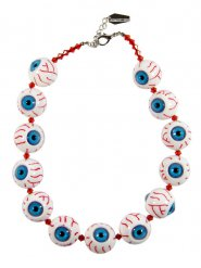 Uitgerukte ogen halsketting
