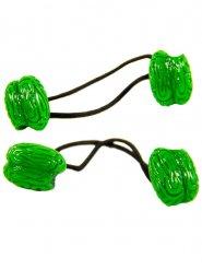 2 hersenen elastieken
