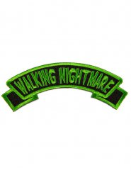 Groene en zwarte Walking Nightmare patch
