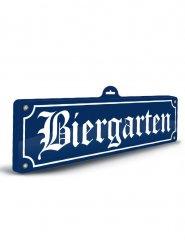 Biergarten decoratie