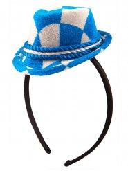 Oktoberfest haarband met mini hoed